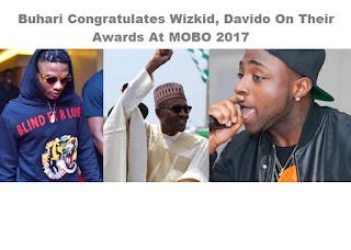 Buhari Wizkid and Davido Together