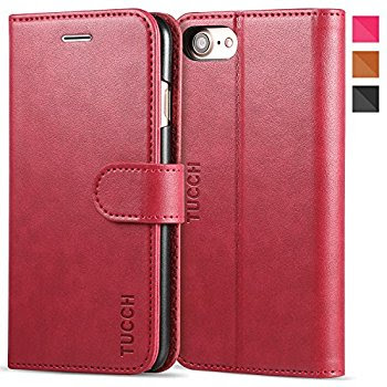 TUCCH PU Leather Flip Case