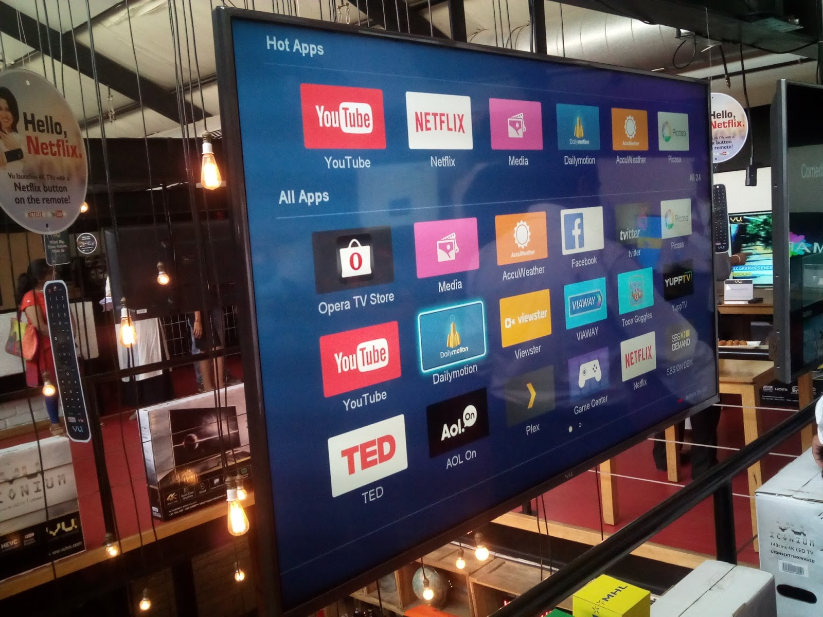 Vu Tv Launches Their Affordable Range Of 4K UHD Netflix