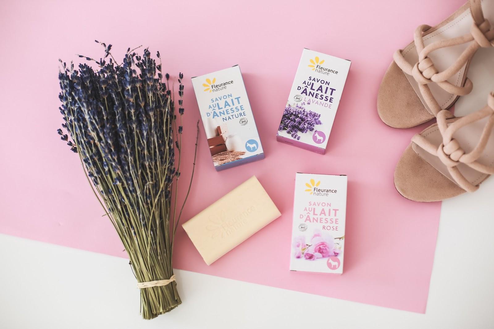 Savons au lait d'Anesse Fleurance Nature