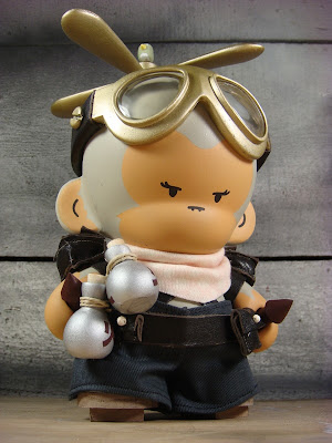 Copter Girl Custom Munny Vinyl Figure by Huck Gee