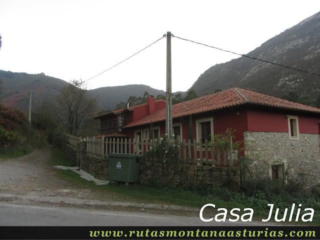 Ruta Pienzu por Mirador Fito y Biescona: Casa Julia