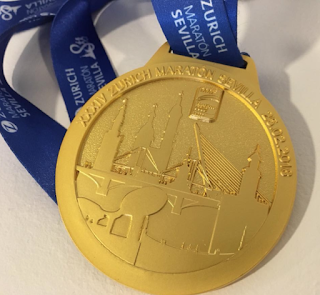 Medalla Zurich Maratón de Sevilla 2018