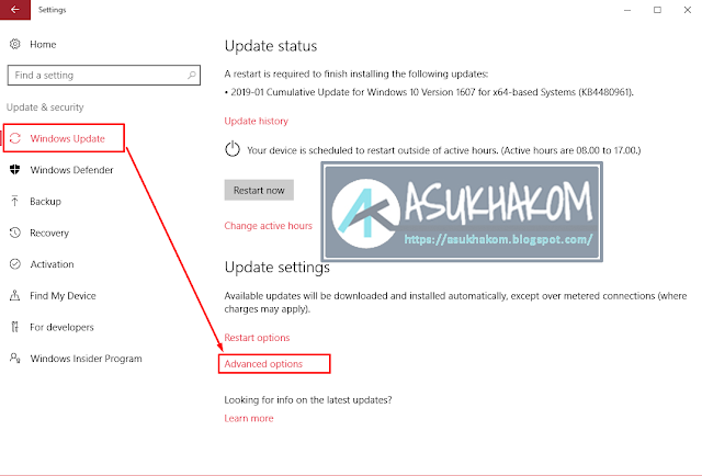 Cara Ampuh Mematikan Windows Update dalam Windows 10