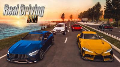 Real Driving Sim Mod (Unlimited Cash/Coins) Apk + OBB Download