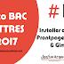 Tuto BAC LETTRES: #1 - 25-03-2017: telecharger et installer Office 2003; frontpage 2003 & Gimp