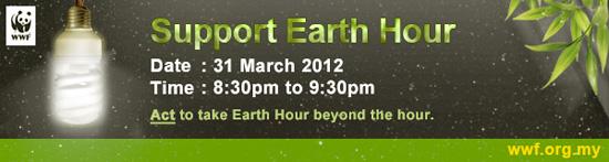 Earth Hour Malaysia 2012