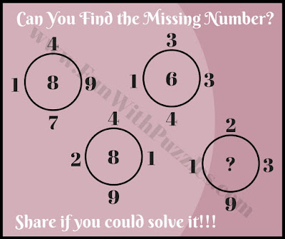 Brain twisting maths brain picture puzzle challenge