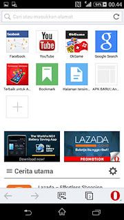 Download Gratis : Opera Mini v10.0.1884.93721 Apk Terbaru