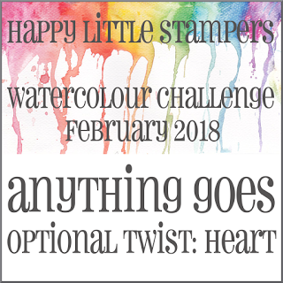 +++HLS February Watercolour Challenge до 28/02