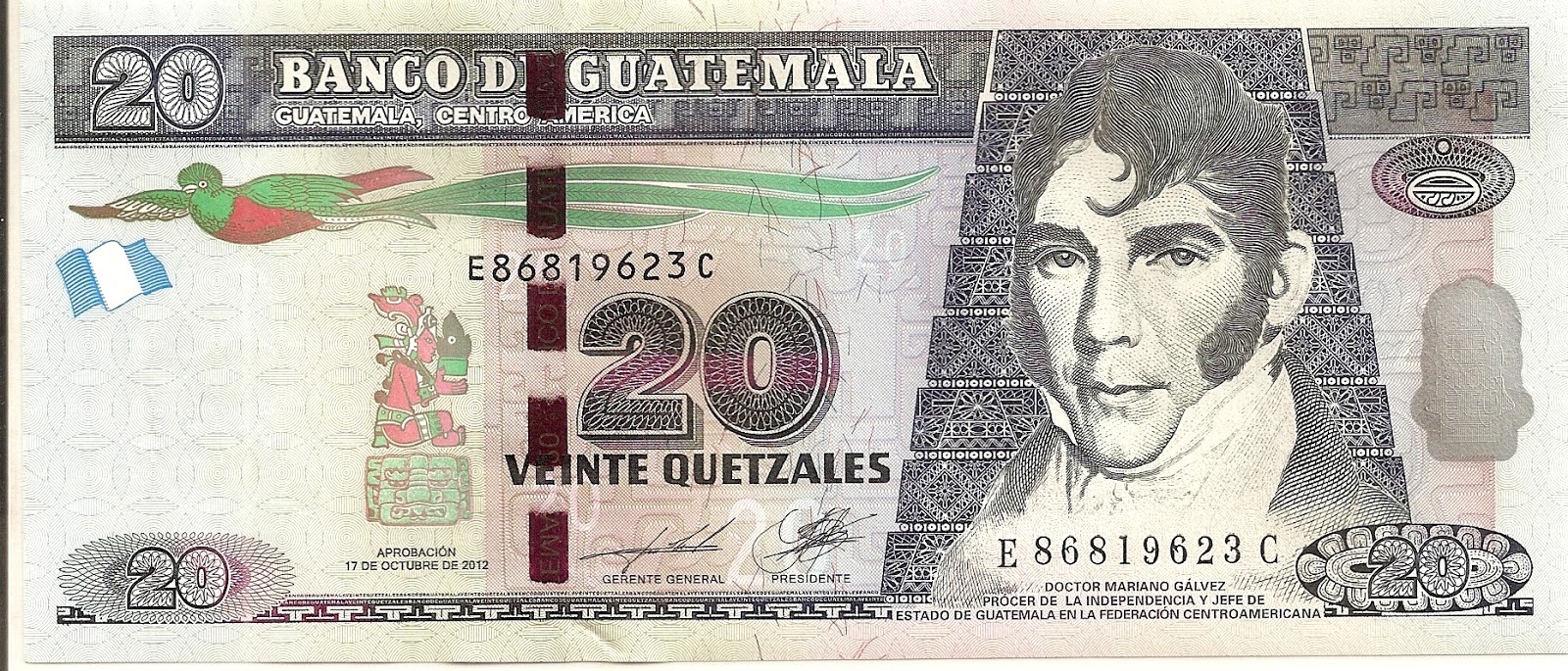 Coins And More 295 Currency Coinage Of Guatemala Quetzal Centavo