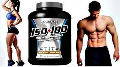 Suplemento proteico gym Iso 100 batidos