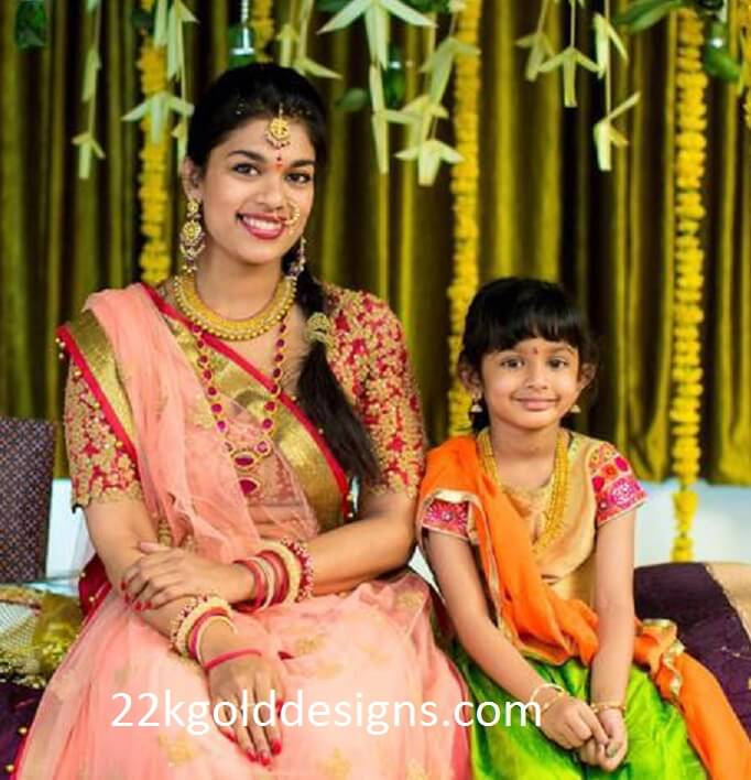 Chiranjeevi Daughter Srija Pellikuthuru Function Jewellery