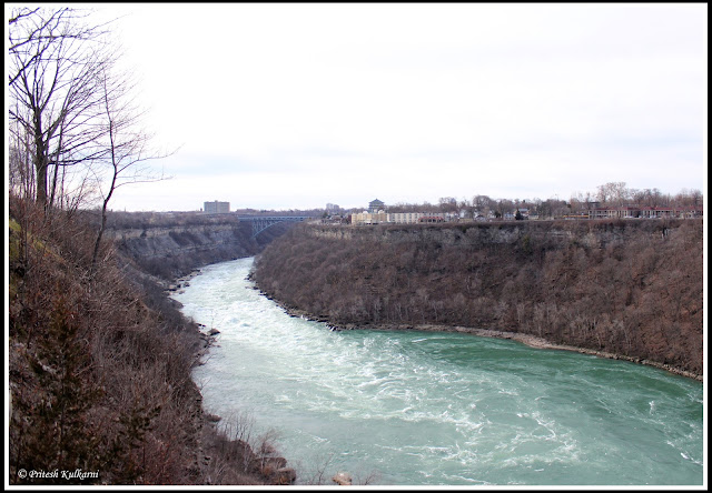 Whirlpool State Park, Canada on other side