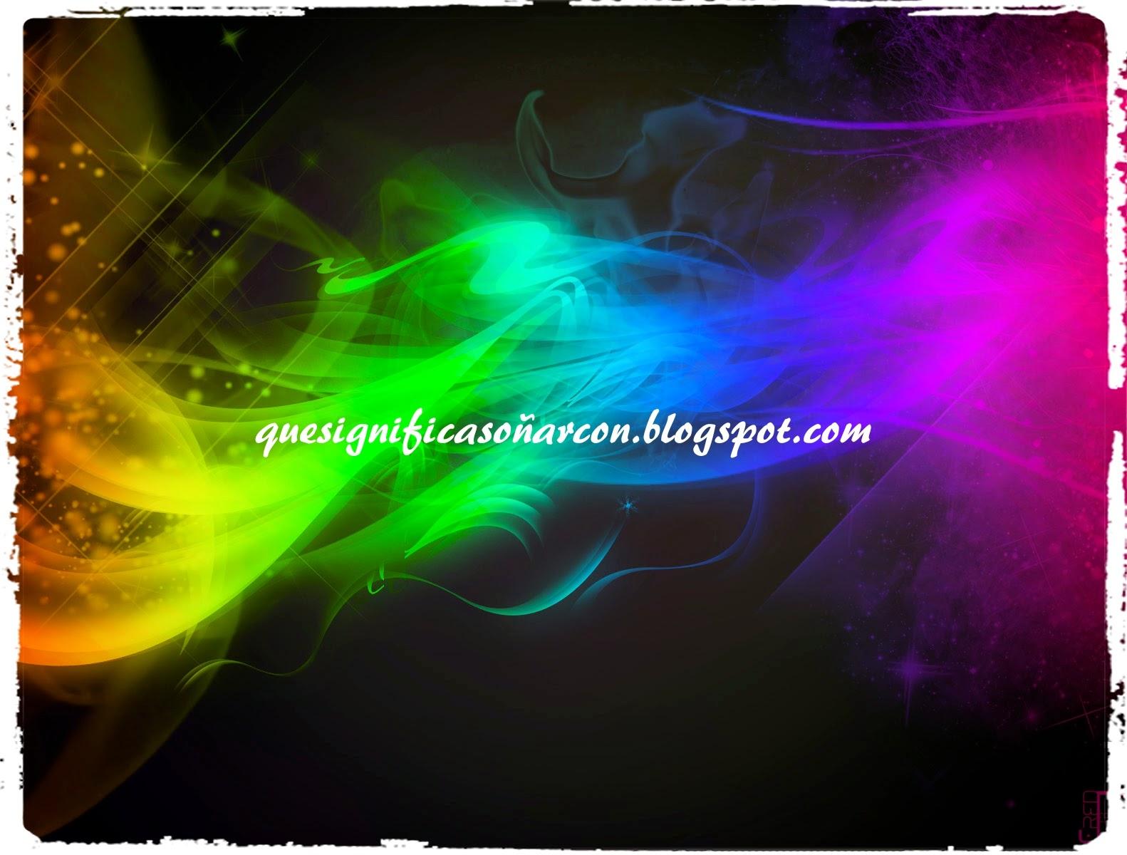 por que soñamos con un arcoiris