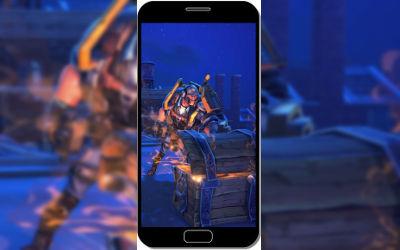 Fortnite Battle Royale Caisse Trésor - Fond d'Écran en QHD pour Mobile