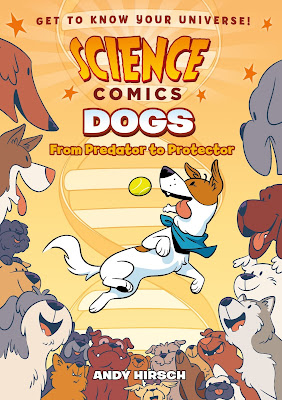 Science Comics: Dogs is an entertaining way to learn a lot about dogs!  Plus, it's a graphic novel!