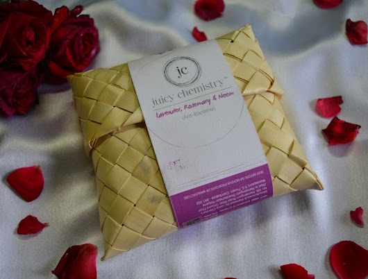 Juicy Chemistry Lavender Rosemary Neem Gourmet Soap Review