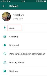 Cara Blokir Nomor Kontak Pada WhatsApp