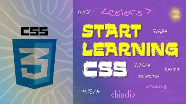 Belajar Menggunakan Opacity RGBA dan HSLA Pada CSS3