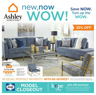 Ashley HomeStore Weekly Flyer April 19 – 25, 2018