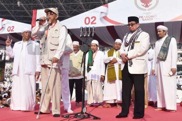 Wakil Ketua Dewan Da'wah Islamiyah Bersumpah Islam Prabowo Jelas