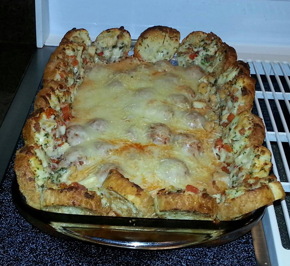 Gina S Favorites Meatball Sandwich Casserole