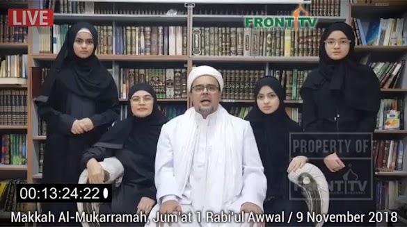 HRS Bantah Dubes RI Soal Jaminan dan Pasukan Khusus Diplomat