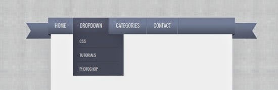 Create a Ribbon DropDown Menu with CSS3 and jQuery