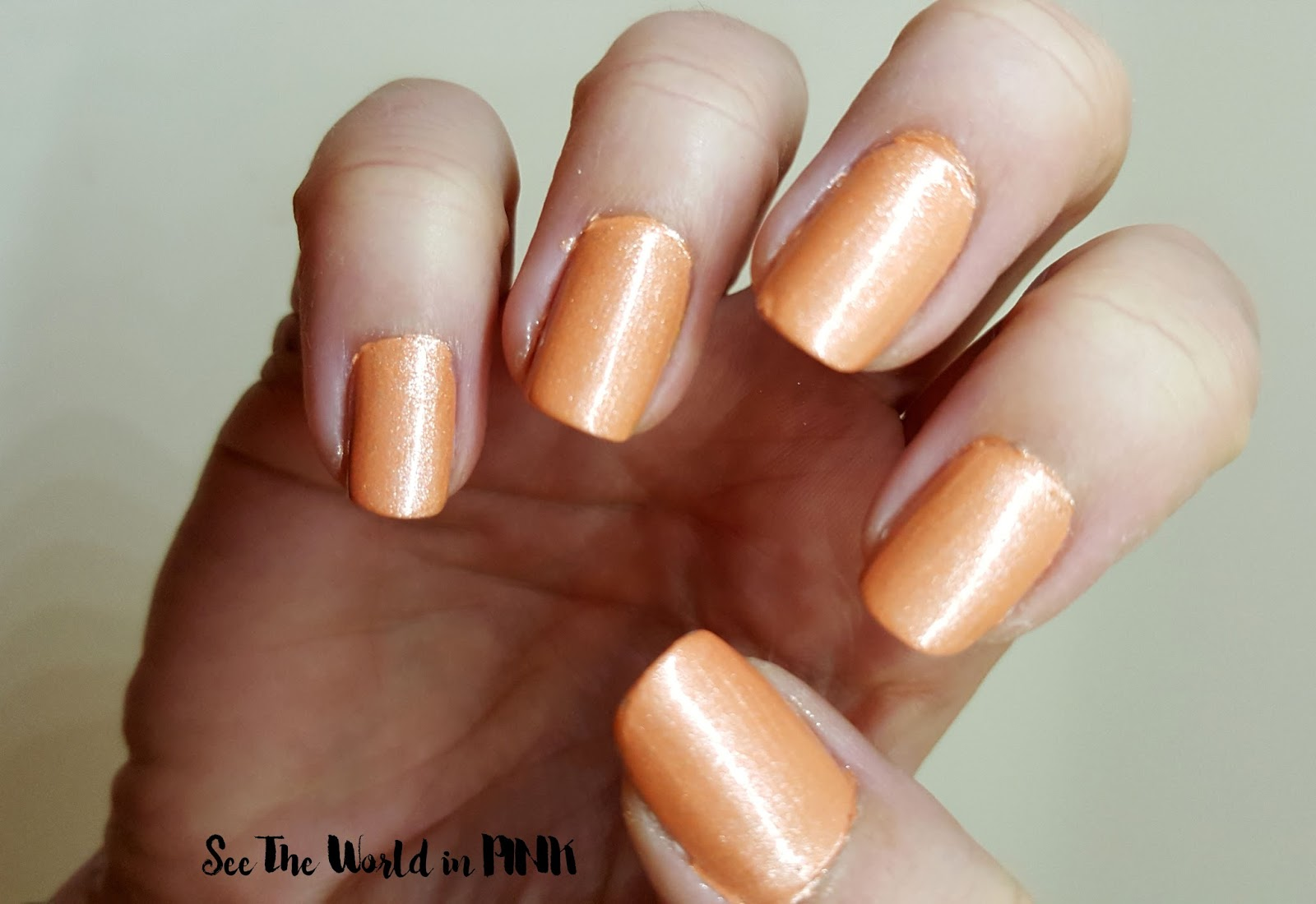 rainbow honey rosey bot nail polish