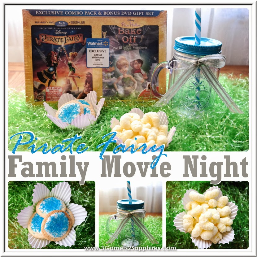 Plan a Pirate Fairy family movie night on the fly! #ProtectPixieHollow #shop #cbias