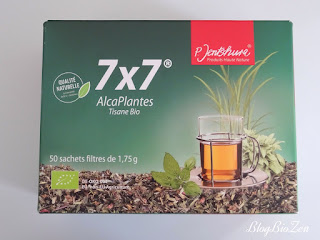 tisane 7x7 Alcaplantes - Jentschura
