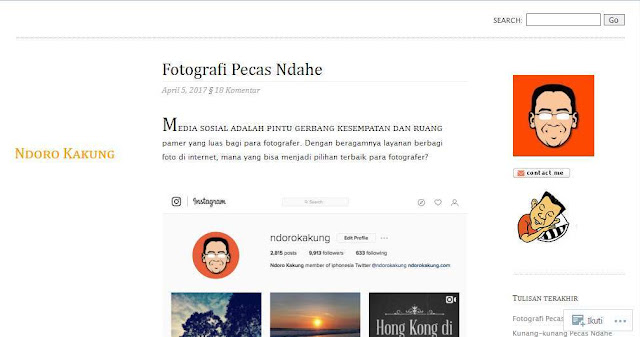 Ndorokakung.com - Blog Pribadi Terbaik Di Indonesia