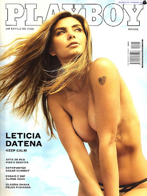 Leticia Datena - Playboy Brasil 2017 April-May (29 Fotos HQ)