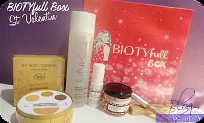 BIOTYfull Box de Février - St Valentin