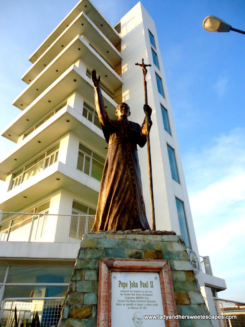 Pope John Paul II Tower in Bacolod