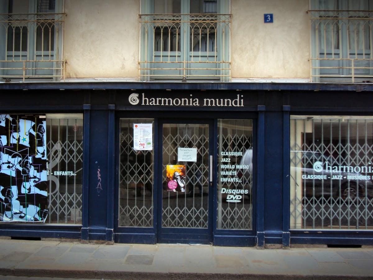 HARMONIA MUNDI -3, rue Jean Jaurès - 35000 Rennes