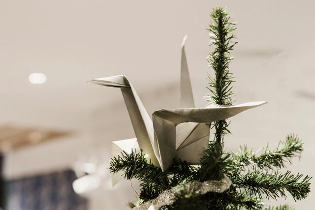 Brunch Navidad 2016 Mi Boda Rocks Origami Forest