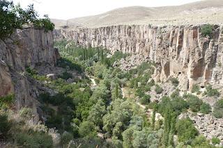 Valle de Ihlara desde el mirador de la entrada principal.