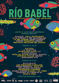 Festival Río Babe 2017 CARTEL