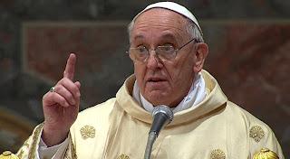 Papa faz imensa concessão à heresia gay