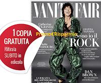 Logo Ritira gratis in edicola la nuova copia di Vanity Fair: nuove registrazioni ancora sospese