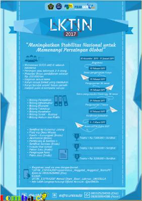 Lomba Karya Tulis Ilmiah Nasional ESFRA 2017 by FT Unissula