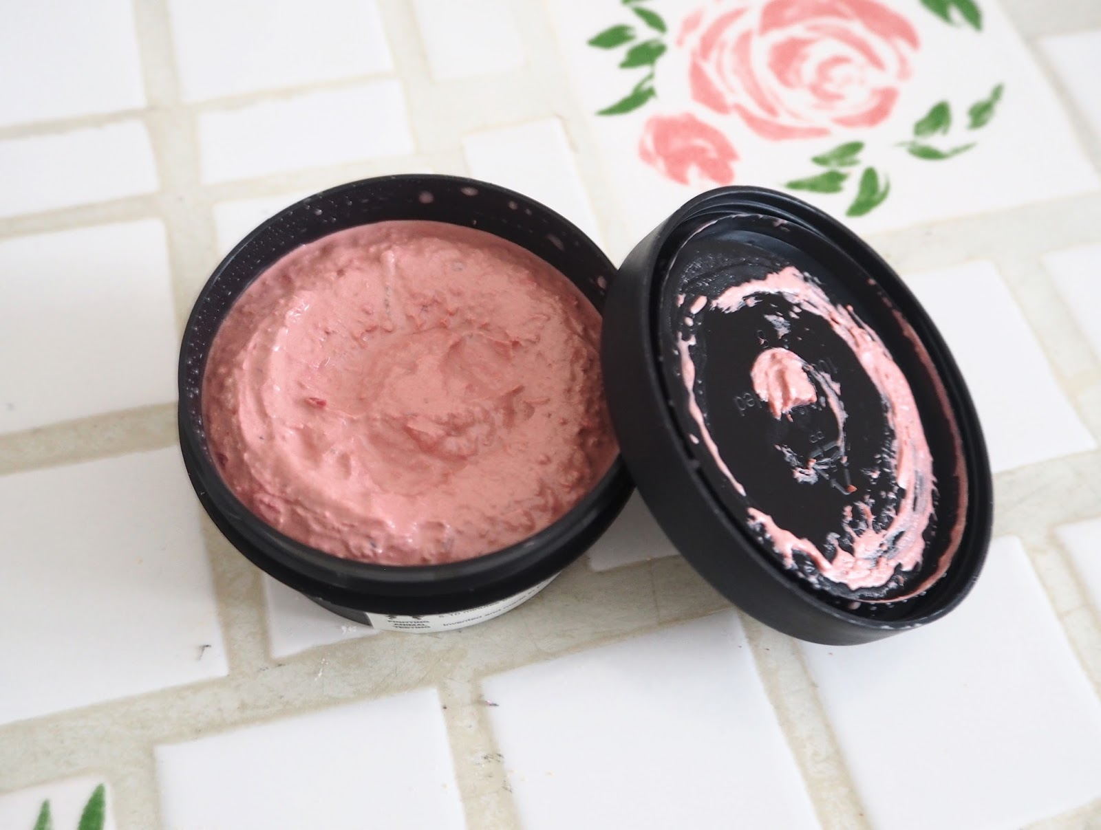 Lush Cranberry Face Mask | Katie Kirk Loves