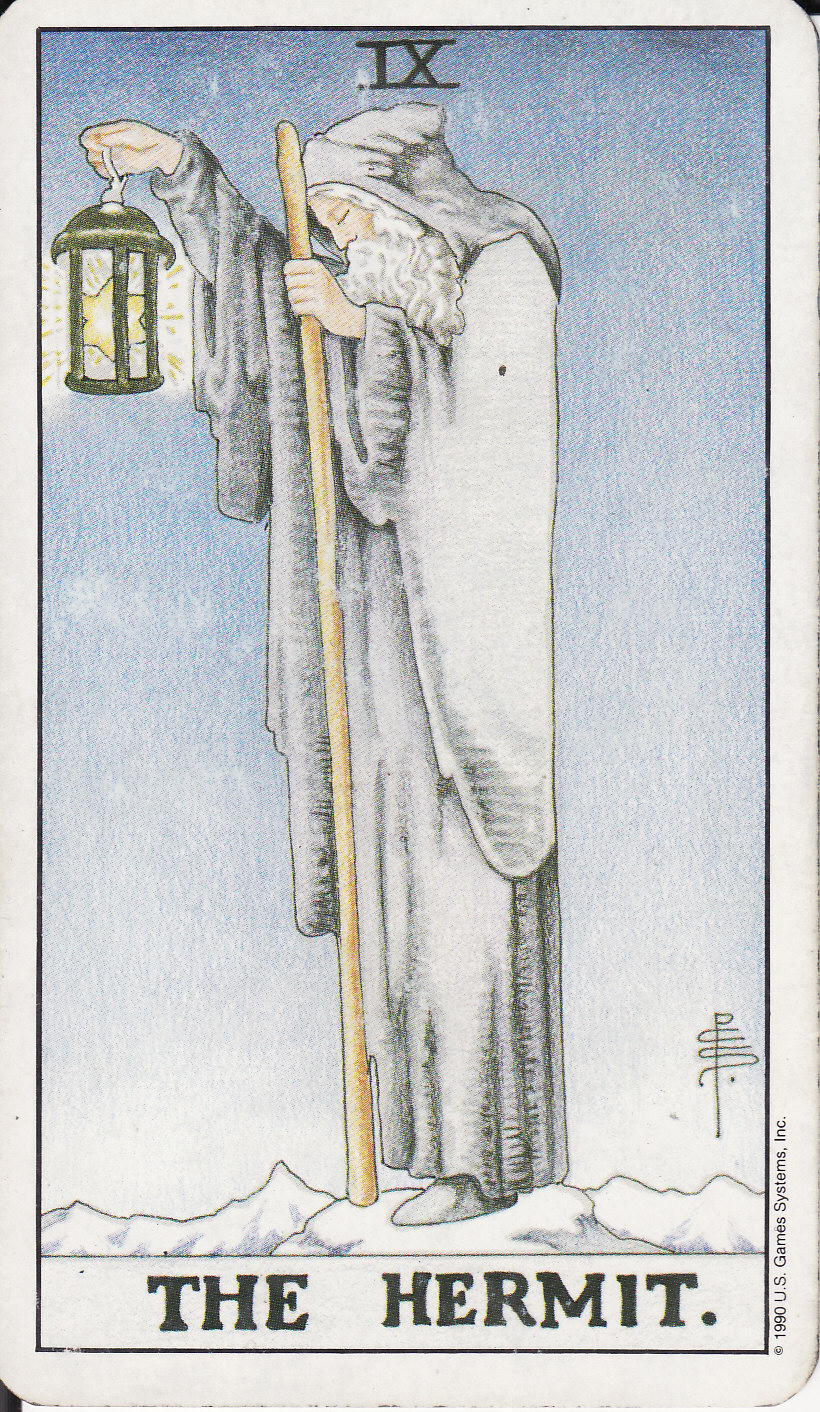 The Hermit Tarot Card Meaning In Readings Isolation: The Royal Road: 9 THE HERMIT IX