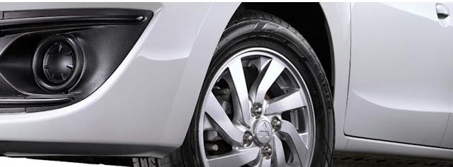 Desain Baru Alloy Wheel Glx Type Mirage