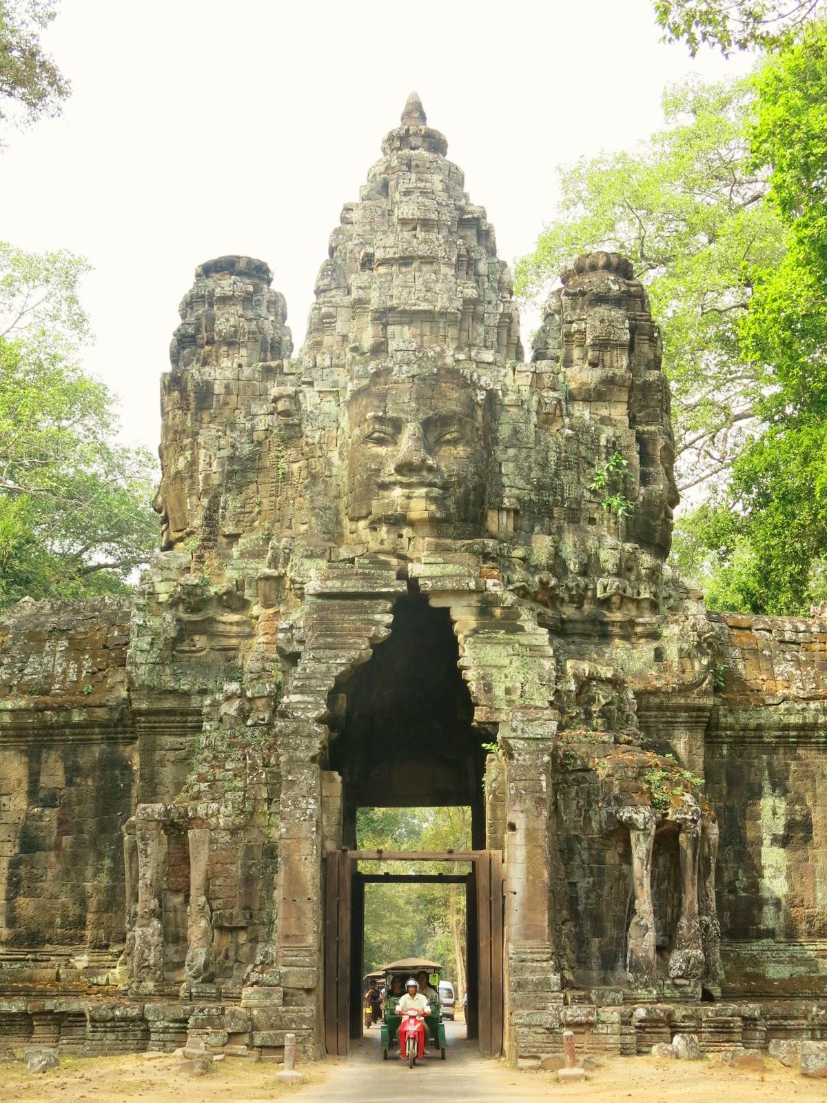 Bayon-templet i Angkor