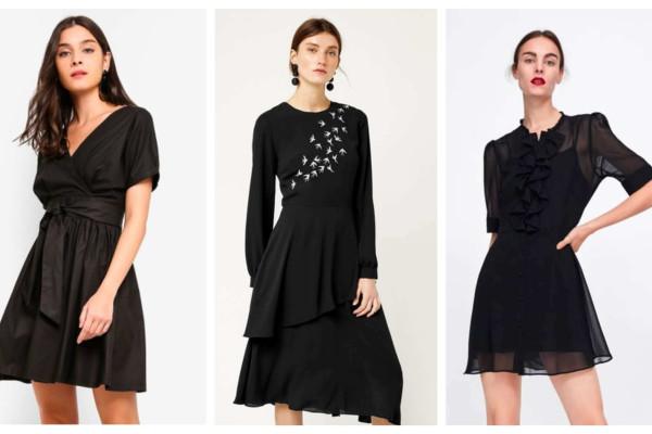 Inilah 7 Dress Hitam Kondangan Terbaru
