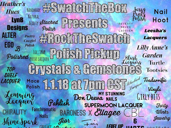 #RockTheSwatch Crystals and Gemstones- All the Vidyas!