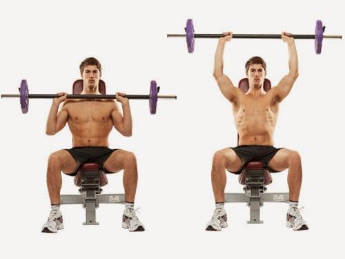 تمارين تحديد عضلات الاكتاف